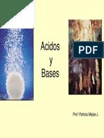 Acidos -  Bases