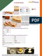 GZRic Crepes Dolci e Salate Ricetta Base