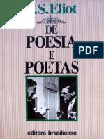 De Poesia e Poetas - Eliot