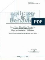 Vagus Nerve Stimulation Therapy for Pharmacoresistant Epilepsy