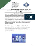 Lubricantes Biodegradables Planto