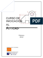 163213567 CURSO de Iniciacion Autocad PDF