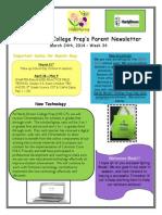 Newsletter - 3.24.2014