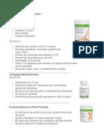 Herbalife Fórmulas
