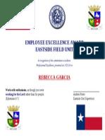 rebecca garcia excellence award