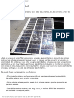 Tutorial Como Hacer Panel Solar