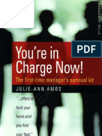 How To Books - You're In Charge Now! The First-time Manager's Survival Kit  3rd Ed