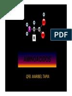 Aminoacidos y Proteinas (Ppt)