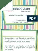 Clase 04 - Alteraciones Articulatorias