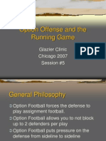 2007 Option Offense - The Running Game Glazier Clinic