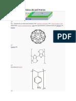 Célula fotovoltaica de polímeros