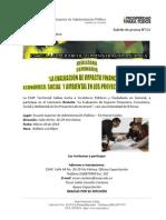 Boletin de prensa N°036 - Marzo 28 - Seminario La Evaluación de Impacto Financiero, Económico, Social y Ambiental en los Proyectos de Inversión