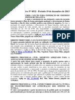 STJ - Informativo Nº 0532 Período 19 de dezembro de 2013