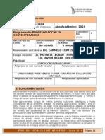 Programa Sociologia 2014