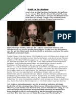 Gold Im Interview