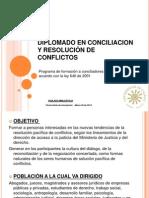 Diapositivas Diplomado en Conciliacion 2014
