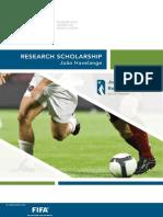 2011 Brochure Joao Havelange Scholarship Final 2011