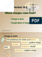 Section 14.2 Where Charges Come From?