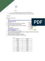 Gas Laws Simulation
