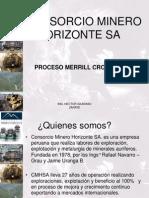 4.Proceso Merrill Crowe - Horizonte