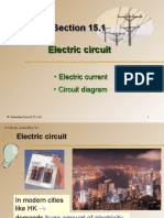 Section 15.1 Electric Circuit