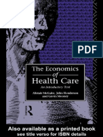 Economics of Health Care - Book