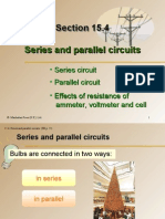 Section 15.4 Series and Parallel Circuits