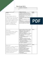 Plan anual 2014 Matemática