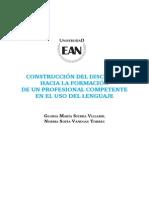 Construccion Del Discurso 2013