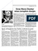 India Abroad October 23, 2009