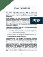 Critical Path Method_yatri