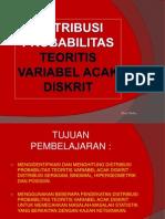 4. Distribusi Variabel Acak Diskrit