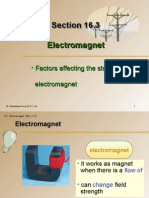 Section 16.3 Electromagnet