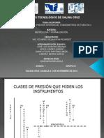Exposicion de Metrologia (Presion)