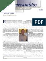 Intercambios (Quarterly Newsletter)