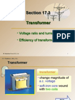 Section 17.3 Transformer