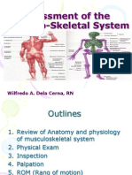 Assessment of the Musclo-Skletal System 2