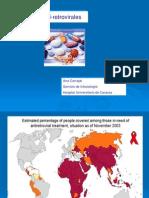 Infectología - Anti-retrovirales