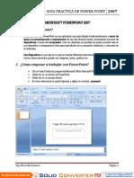 Microsoft Power Point - 2013 JBG