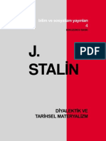J. Stalin - Diyalektik Ve Tarihsel Materyalizm
