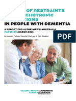 THE USE OF RESTRAINTS 