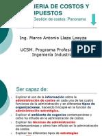 Sesion 2 Gestion de Costos Aspectos Generales 2014