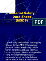 MATERIAL SAFETI DATA SHEET
