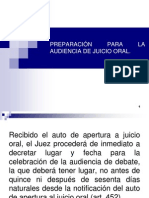 Preparacin Audiencia Juicio Oral