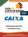 Interpretacao De Texto - Questões CESPE - MariaTereza