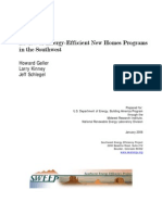 Review of Energy-Efficient New Homes Programs in the Southwest