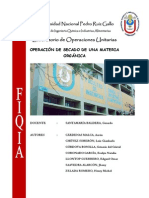 OPERACIÓN DE SECADO DE MATERIA ORGÁNICA