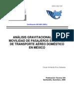 Modelo Gravitacional Transporte Aereo