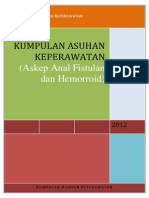 Askep Anal Fistula Dan Hemorroid