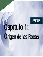 Clase 1 Origen Rocas